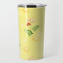 The flowers of the field. Travel Mug
