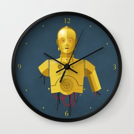 Never Tell Me The Odds (C3P0) Wall Clock