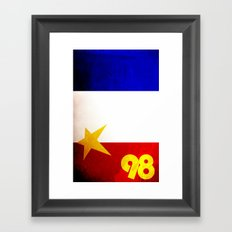 France World Cup Framed Art Print