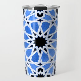 Moroccan Zellige pattern Travel Mug