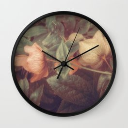 SECRET FLOWERS OF PARADOX Wall Clock