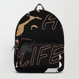 Life's A Breeze For Kitesurfers Backpack