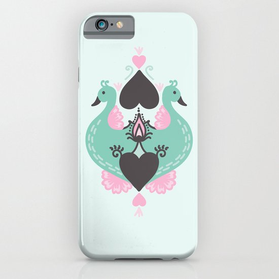 Pretty Peacocks iPhone & iPod Case