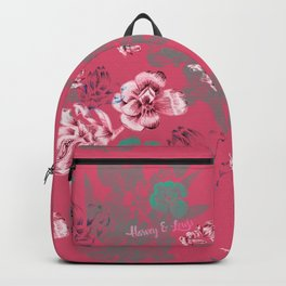 Tinted pink Backpack