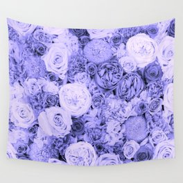 bouquet ver.blue-b Wall Tapestry