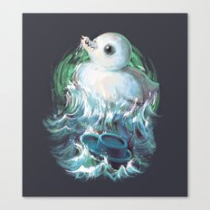 Moby Duck Canvas Print