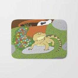 Bearded Dragon Bath Mat