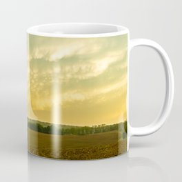 Storm over a Pennsylvania Farm Coffee Mug