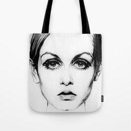 60's Eyelashes Tote Bag