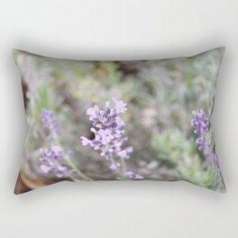 Lilac Flower Rectangular Pillow