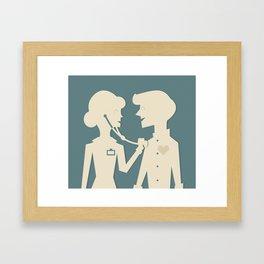 Doctor Doctor Framed Art Print