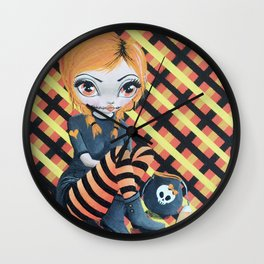 Fashionably Late Cherisse the Dress Ripper Wall Clock