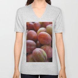 Crumbs- plums! Unisex V-Neck