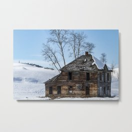 Once Upon A House Metal Print