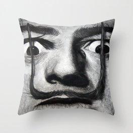 I am drugs ( Salvador Dali ) Throw Pillow