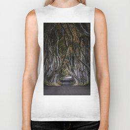 Dark Hedges Alley Biker Tank