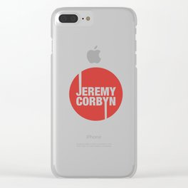 Jeremy Corbyn Clear iPhone Case