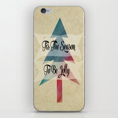 Tis The Season To Be Jolly iPhone Skin