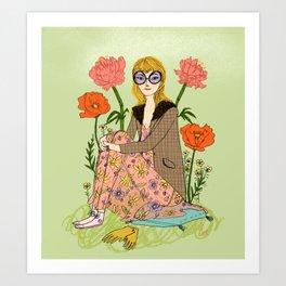 Spring Fashion Art Print