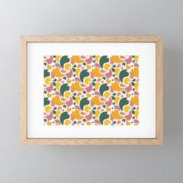 Falling Petals 1 Framed Mini Art Print