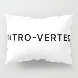 'INTRO-VERTED' Pillow Sham