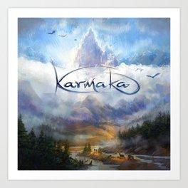 Karmaka Box Art Art Print