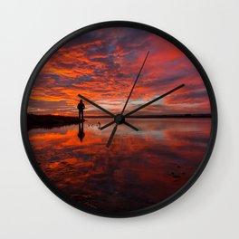 -Mirror- Wall Clock