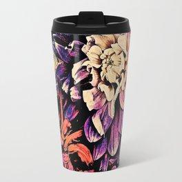 Autumn Dahlia Floral Bouquet Travel Mug