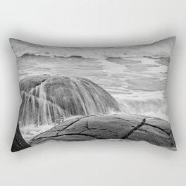 Rocky Shore Icing Rectangular Pillow
