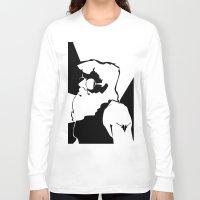 santa Long Sleeve T-shirts featuring Santa  by xiari