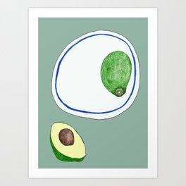 Avo's Art Print