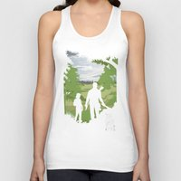 last of us Tank Tops featuring The Last Of Us by Pixel Design