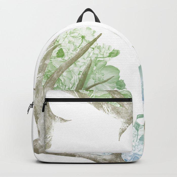 Floral Horns Backpack