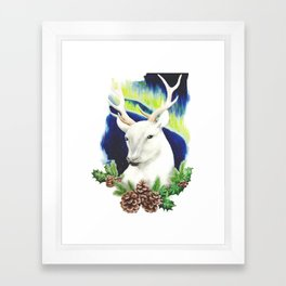 Yuletide Blessings Framed Art Print