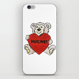 Hug Me Bear iPhone Skin