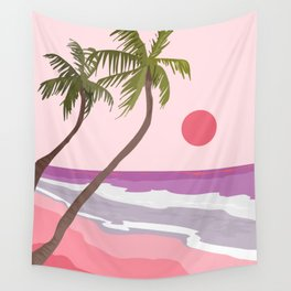 Tropical Landscape 01 Wall Tapestry