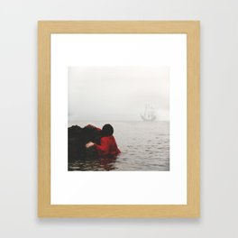 Galleon Framed Art Print