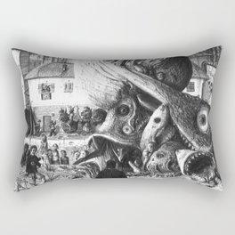Big fish eats small fish Rectangular Pillow