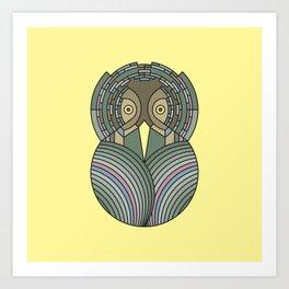 Hoots the Owl Art Print