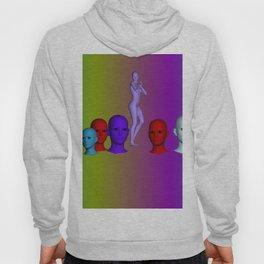 rainbow heads Hoody