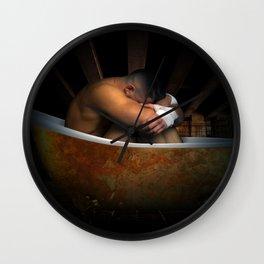 male nude art 2 Wall Clock