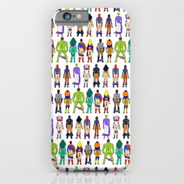 Superhero Butts - Power Couple iPhone Case