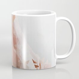 splash geometric thumbs up abstract background Coffee Mug