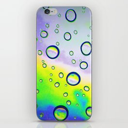 Colorful Waterdrops - Inverted Art iPhone Skin
