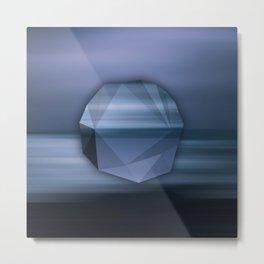 Polygon Landscapes – IV Metal Print