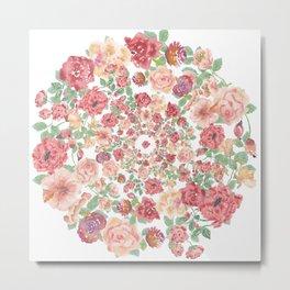 Beautiful Rose - floral, flowers, flower Metal Print