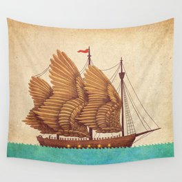 Winged Odyssey Wall Tapestry
