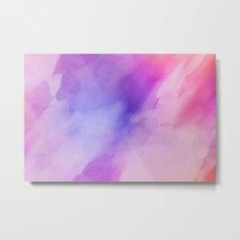 Abstract watrcolor Metal Print