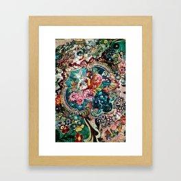 La vie boheme extreme Framed Art Print