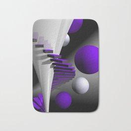 go violet -12- Bath Mat